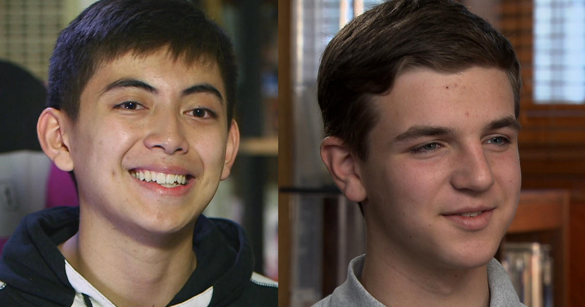 00740c319 2 teens who aced AP calculus test have common denominator - CBS News