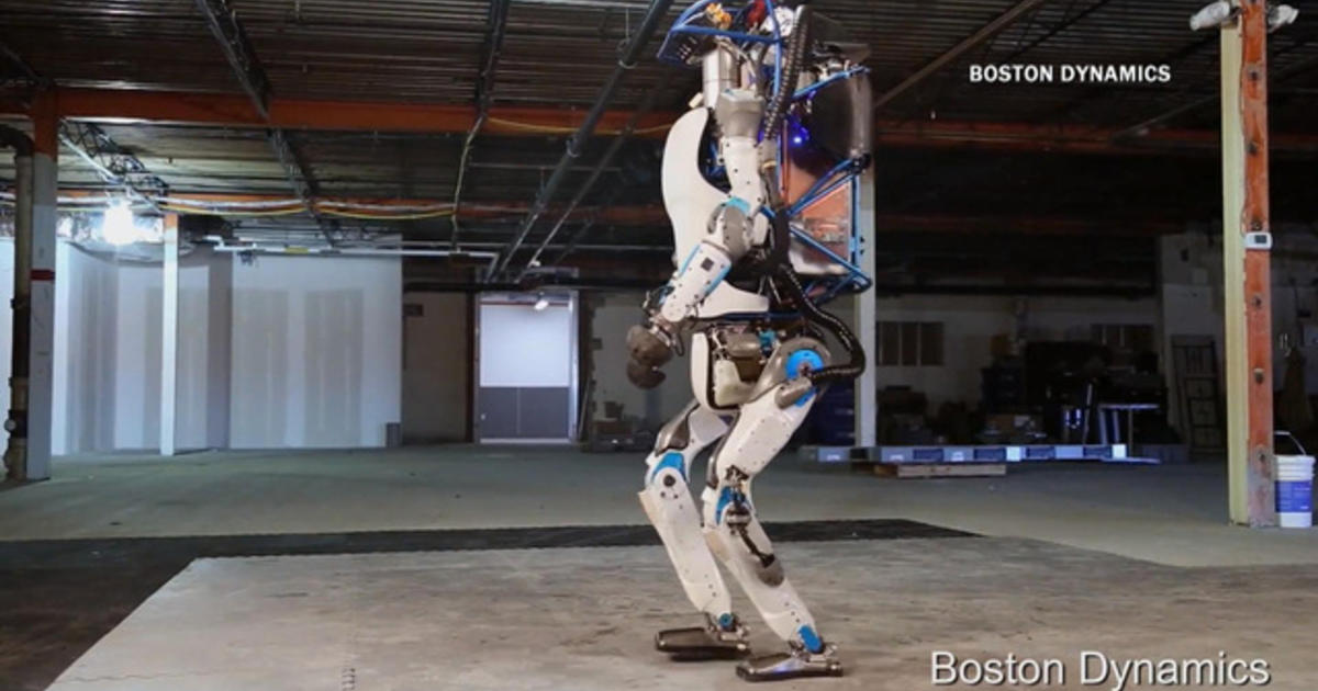 How The Door Opening Robot Dog May Change The Future Cbs News