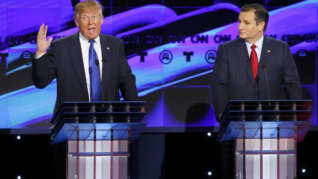 gop candidates face off in final debate before super tuesday cbs news