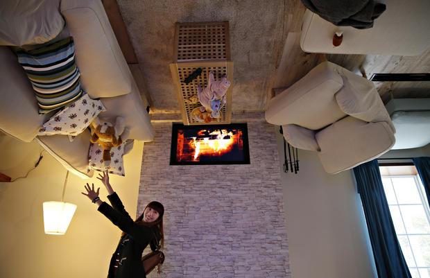Taiwan's upside down house