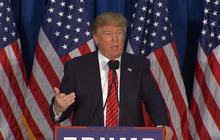 Full video: Donald Trump responds to Mitt Romney