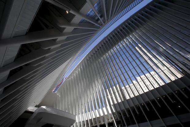 $4 billion new World Trade Center transit hub