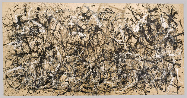 The art of Jackson Pollock