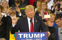 Donald Trump drawing record numbers in GOP primary race
