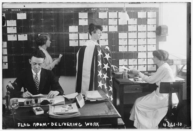 Early 20th century women in the workplace