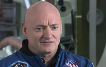 Scott Kelly adjusting back on Earth after year in space