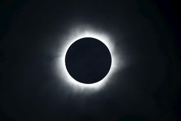 Stunning total solar eclipse