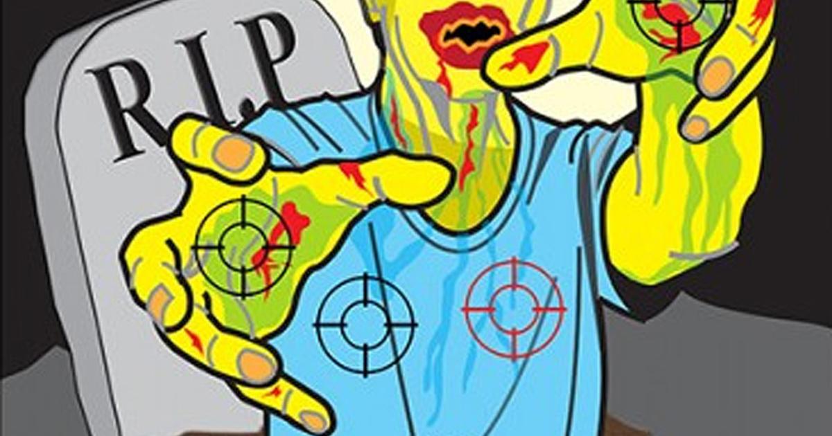 Shooting Range Orlando >> Werewolf - Zombies, Nazis and Jar Jar Binks: Novelty shooting range targets - Pictures - CBS News