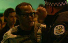 CBS News journalist detained as Chicago Trump rally turns violent