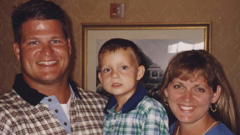 David, Evan and Belinda Temple