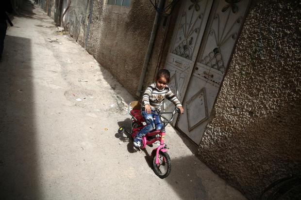Children of the Syrian civil war