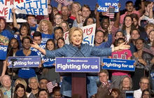 Clinton's new victories make path to nomination clearer