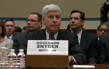 Michigan governor grilled on Capitol Hill over Flint water