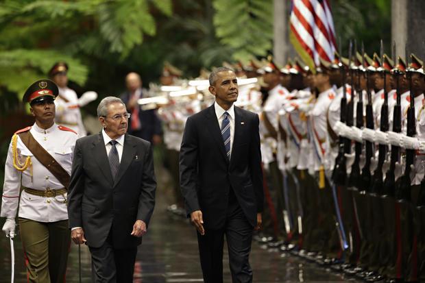 President Obama's historic visit to Cuba