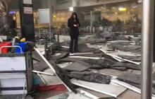 Watch: Aftermath of Brussels airport blasts