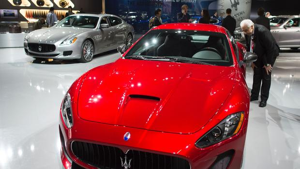 New wheels at the N.Y. Auto Show