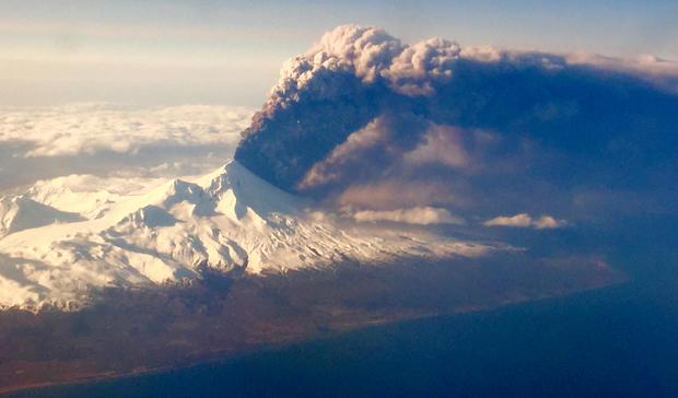 Volcanoes in action