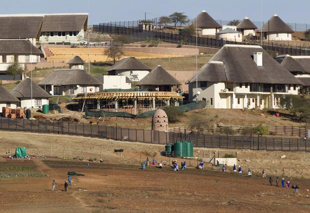 A general view of the Nkandla home of South Africa's President Jacob Zuma