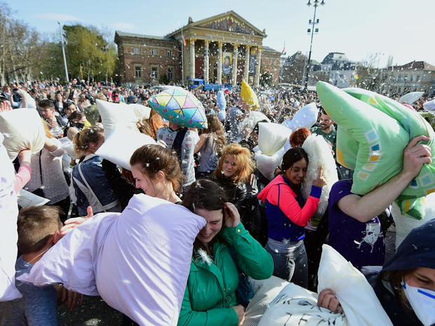 International Pillow Fight Day 2016