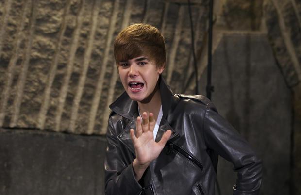 Justin Bieber's signature hair
