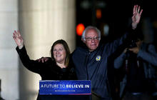 Back in Brooklyn: Jane Sanders on primary race and New York roots