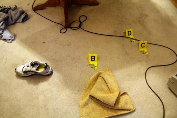 Ryan Poston crime scene
