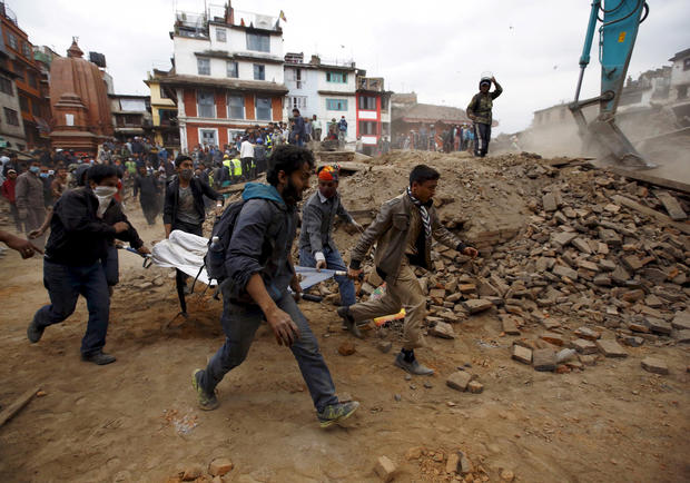 The Nepal quake: Then and now
