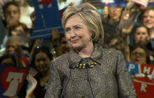 Hillary Clinton moves past Sanders in Northeast primaries