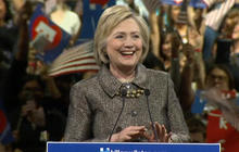 Clinton marches closer to nomination after Northeast contests