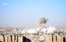 Syrian military launches more airstrikes on hard-hit Aleppo