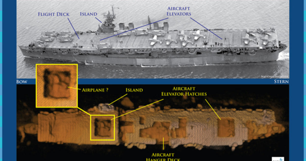 secret atomic role of wwii-era aircraft carrier revealed