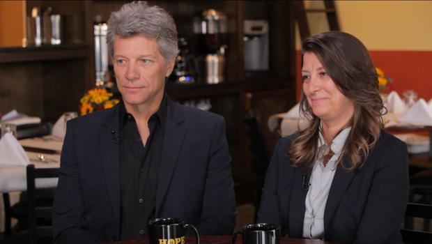 Jon Bon Jovi and wife talk \