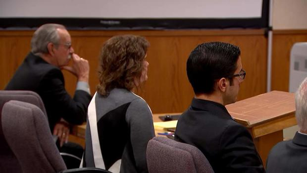 Janer Laut during her trial