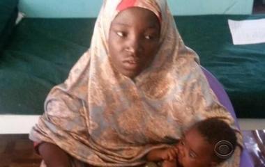 Locals in Nigeria find girl taken by Boko Haram