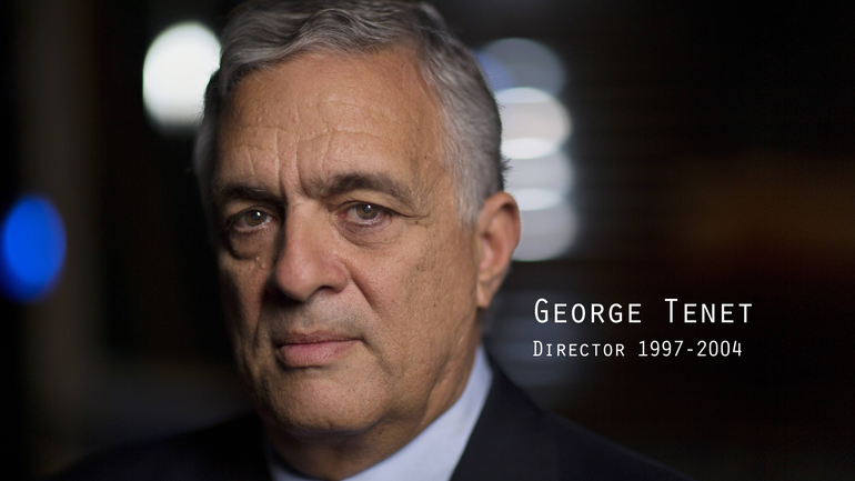 Former CIA Director George Tenet