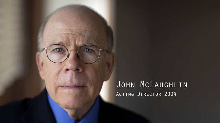 Former CIA Director John McLaughlin
