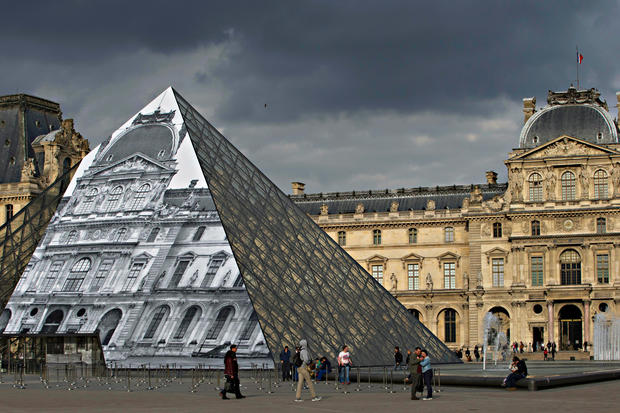 French street artist JR's monumental works