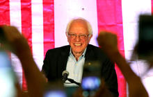 Why is Bernie Sanders continuing his campaign?