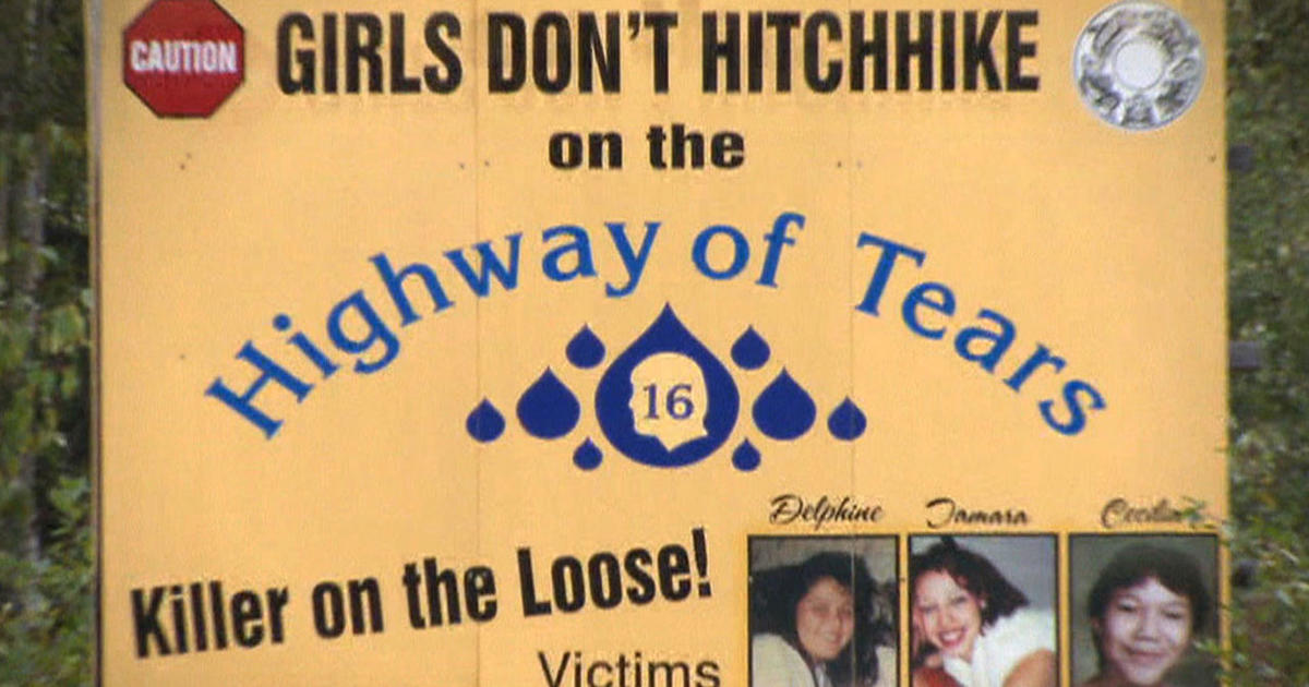 Hours Explores The Mysteries And Murders Along Canadas - Highway of tears canada map