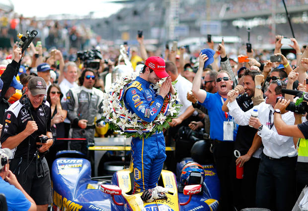 Rookie Alexander Rossi wins Indianapolis 500