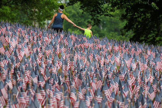 America honors the fallen
