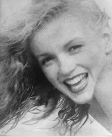 Intimate portraits of Marilyn Monroe
