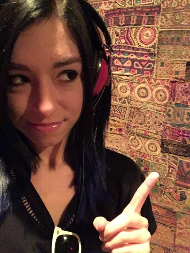 Christina Grimmie is seen in a photo posted to her Twitter account.