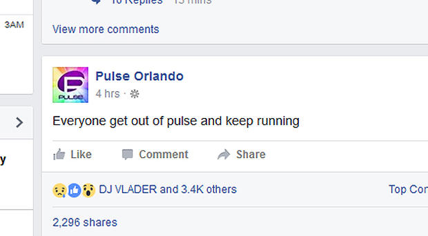 Mass shooting at Orlando nightclub