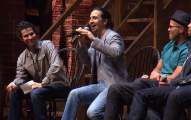 """""""Hamilton"""" cast members answer students' questions"""
