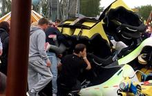 Children among 10 injured in Scottish roller coaster crash