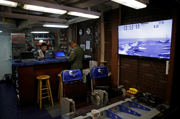 Life aboard the USS Harry S. Truman
