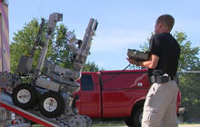 Police use of lethal robots sparks crime-fighting debate
