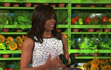 Michelle Obama hosts her final kids' State Dinner