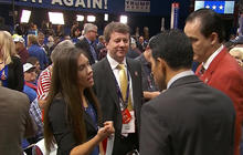 Young Republican delegates still divided over Trump